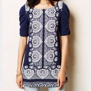 "Anthropologie AKEMI + KIN ""MANET"" Tunic Dress"